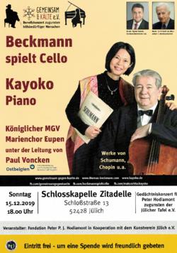 Plakat Benefiz-Konzert 2019